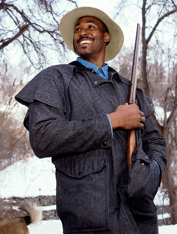 Karl Malone goes hunting in Utah.