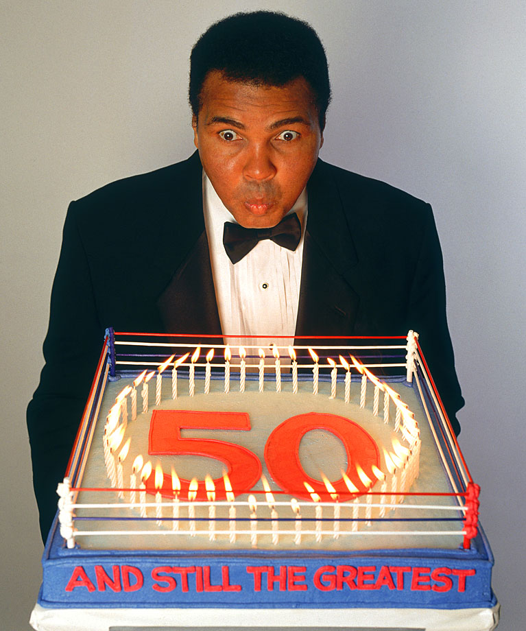 Muhammad Ali . . . .  still the greatest.
