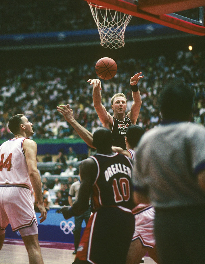 July 27, 1992  — Team USA vs. Croatia, Summer Olympics
