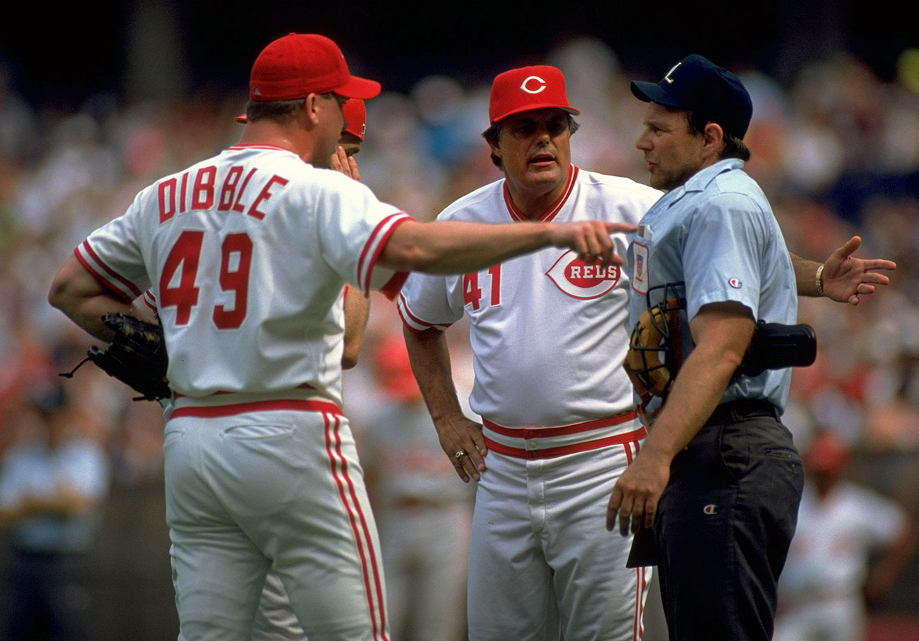 Piniella, the Reds manager, was known for his hot temper, and so was Dibble, a hard-throwing member of Cincinnati's Nasty Boys relief corps. So perhaps it was inevitable that the two would clash, with the dustup finally occurring late in the 1992 season when Dibble claimed Piniella had falsely indicated to reporters that he had a bad shoulder. Piniella called Dibble a liar and the two wrestled in the clubhouse.