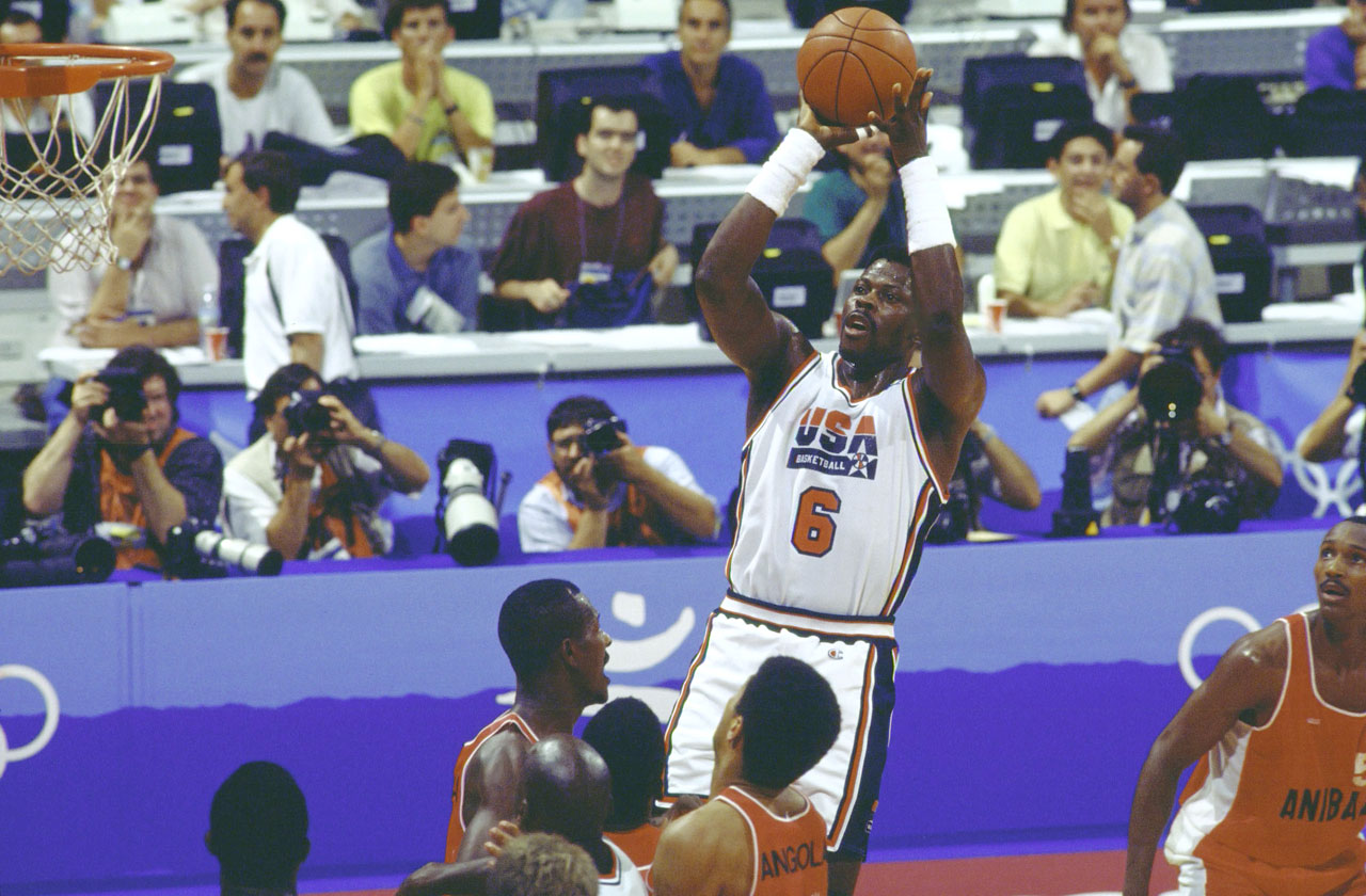 1992 Summer Olympics Group A game vs. Angola