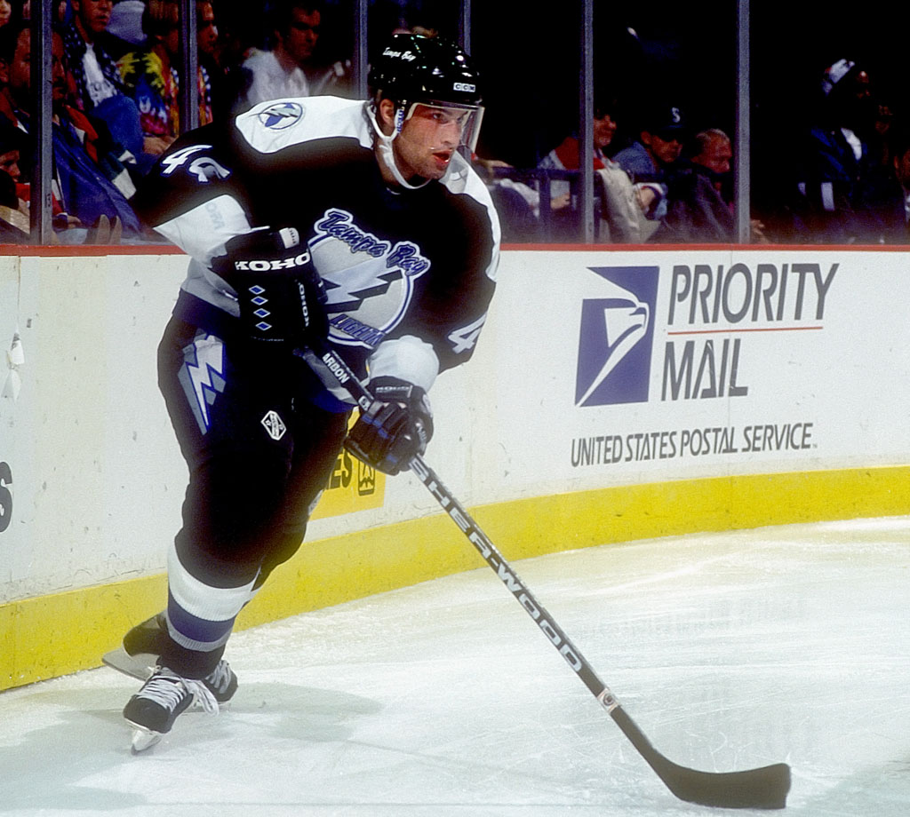 Blessed with great skating ability and a blistering point shot, Hamrlik was a valuable defenseman for seven NHL teams, though never an elite cornerstone, as one might expect from a No 1 overall pick. A three-time All-Star, Hamrlik scored 638 points in 1,395 games. — Notable picks: No. 2: Alexei Yashin, C, Ottawa Senators | No. 14: Sergei Gonchar, D, Washington Capitals | No. 40: Michael Peca, C, Vancouver Canucks | No. 204: Nikolai Khabibulin, G, Winnipeg Jets