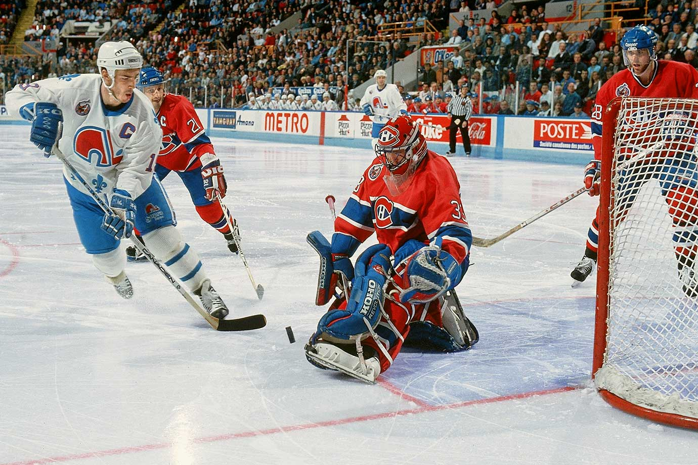April 20, 1993 — Adams Division Semifinals, Game 2 (Canadiens vs. Nordiques)