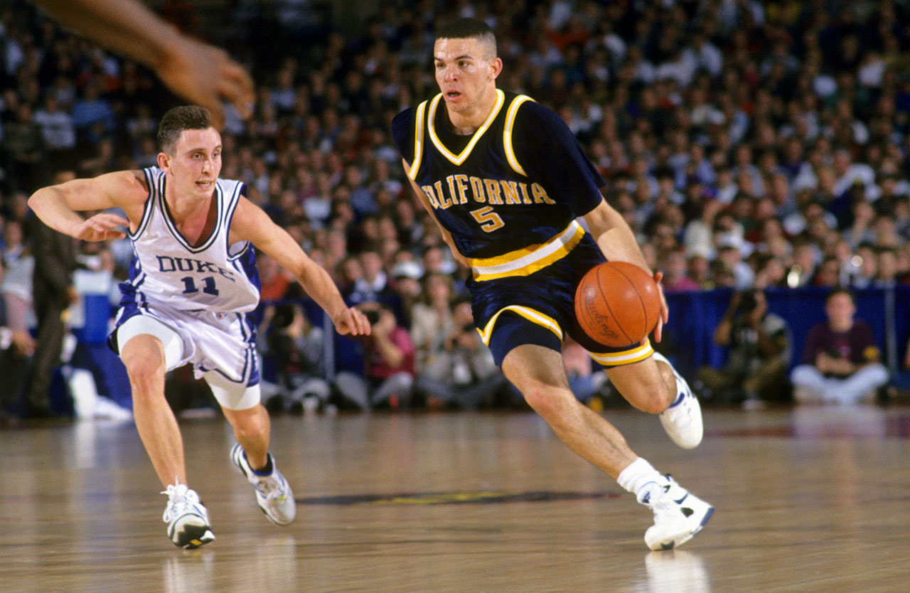Jason Kidd also led the Golden Bears back to the NCAA tournament, where they upset two-time defending champion Duke in the second round.