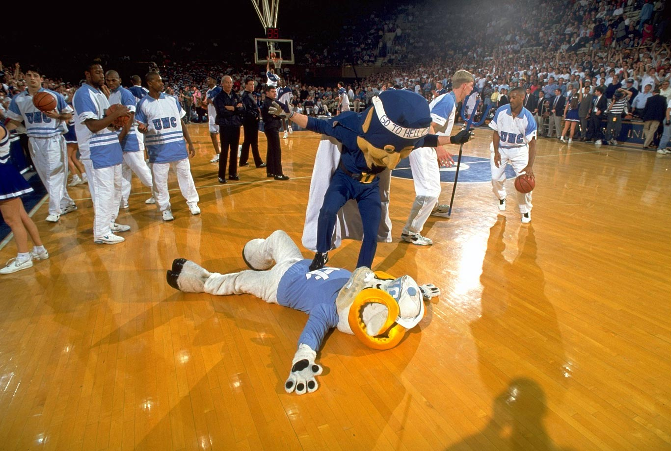 The Blue Devil and Ramses