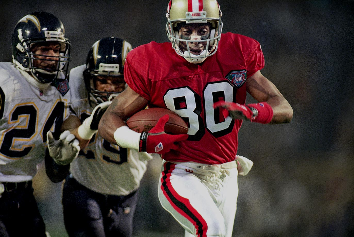 premium selection f9502 72f5d Classic SI Photos of Jerry Rice | SI.com