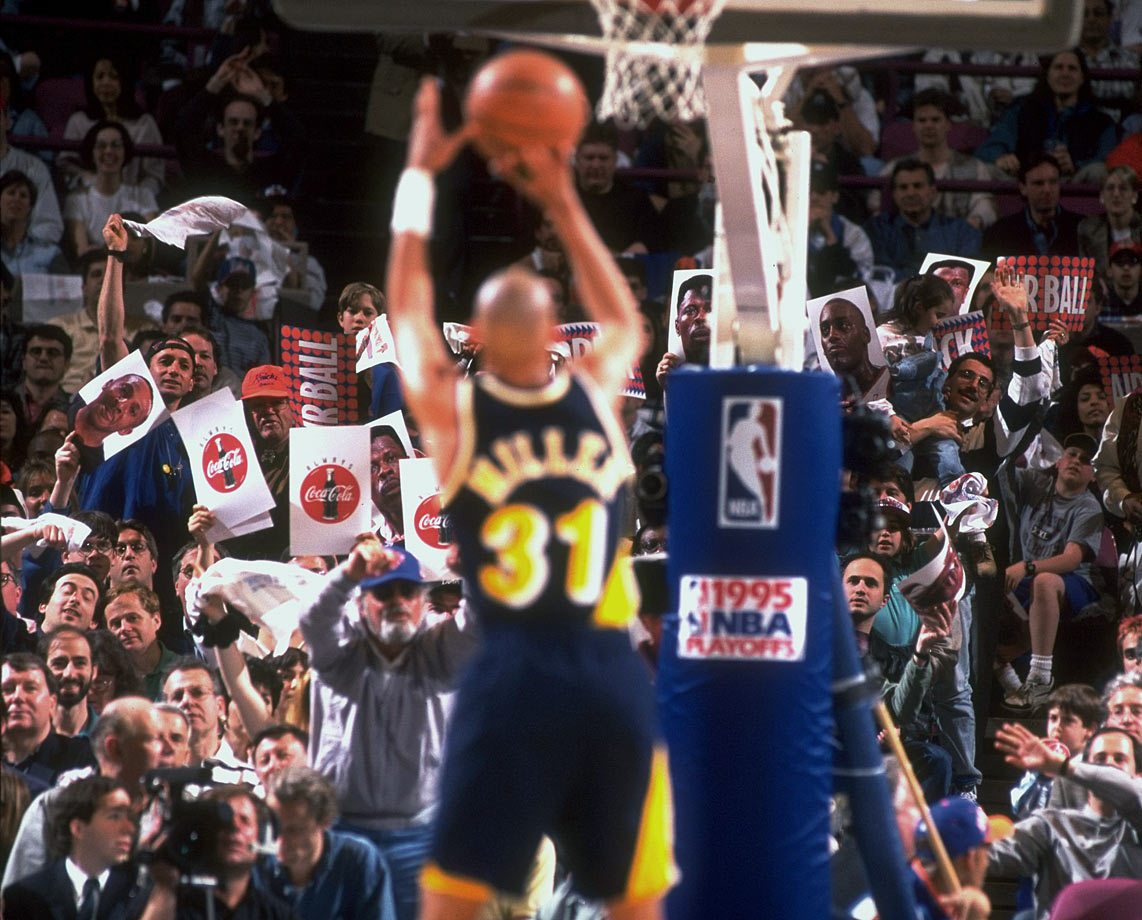 1995 Eastern Conference Semifinals, Game 1