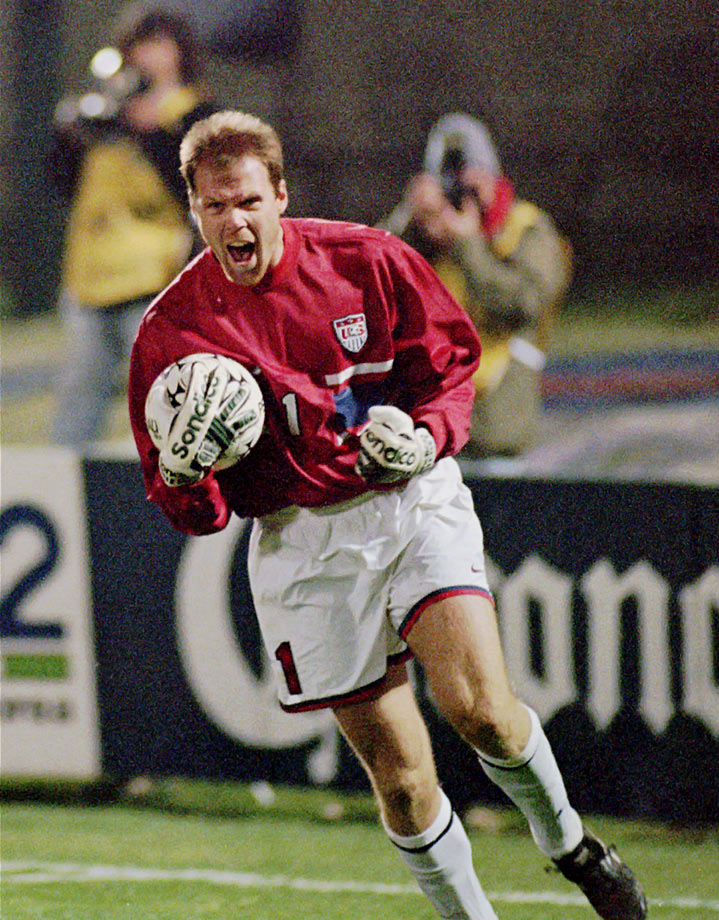 The USA outlasted Mexico in a penalty shootout to reach the semifinals of the 1995 Copa America. After a 0-0 draw, goalkeeper Brad Friedel was the hero in PKs, making two saves. The U.S. made all four of its attempts and advanced.