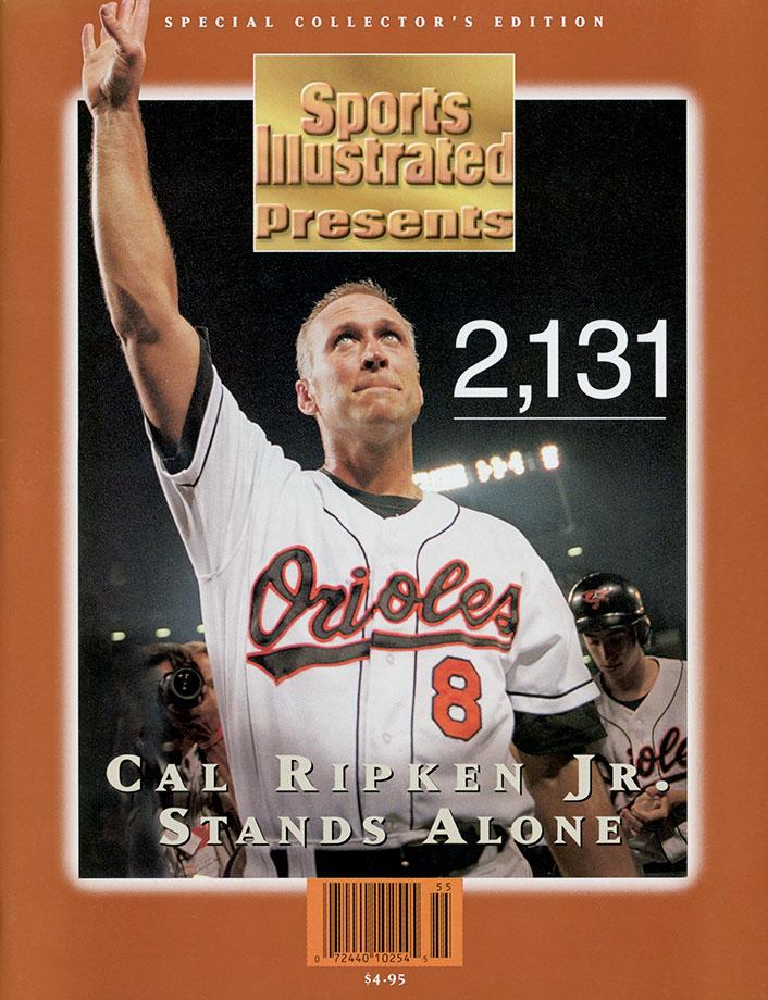 Sept. 6, 1995 (breaking Lou Gehrig's 2,130 consecutive games streak)