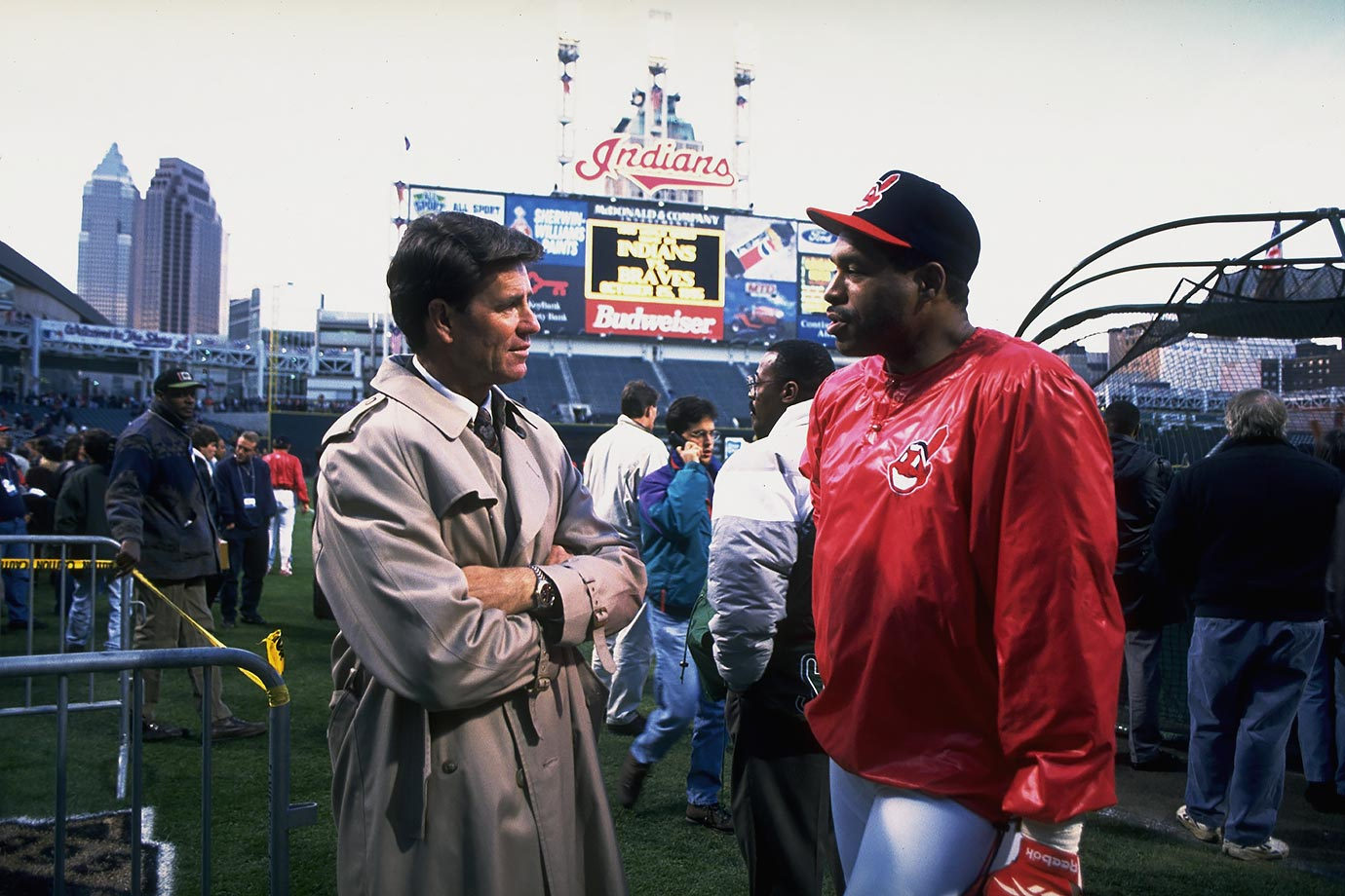 October 25, 1995 — World Series, Game 4 (Cleveland Indians vs. Baltimore Orioles)