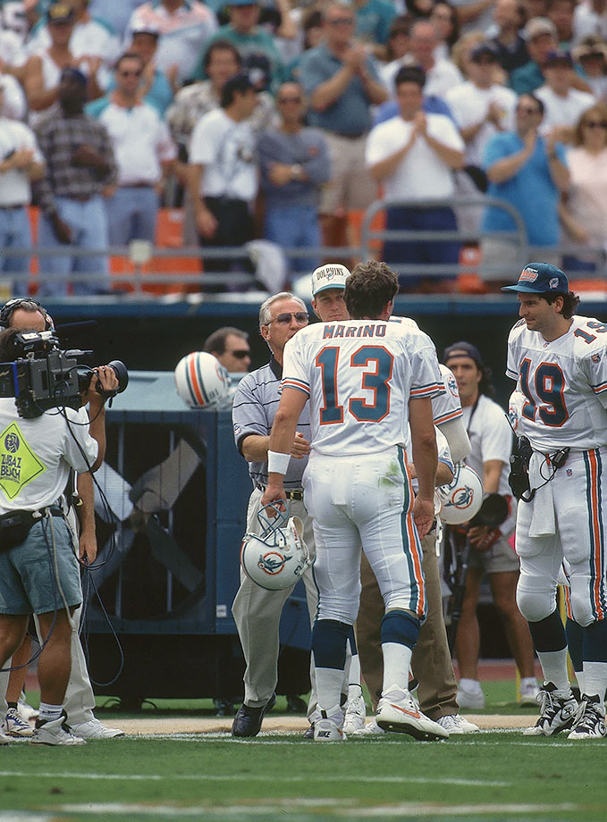 Nov. 12, 1995 — Miami Dolphins vs. New England Patriots