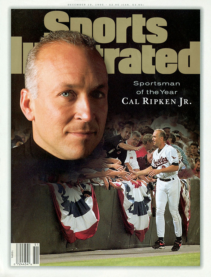 Nov. 15 and Sept. 6, 1995 (breaking Lou Gehrig's 2,130 consecutive games streak)