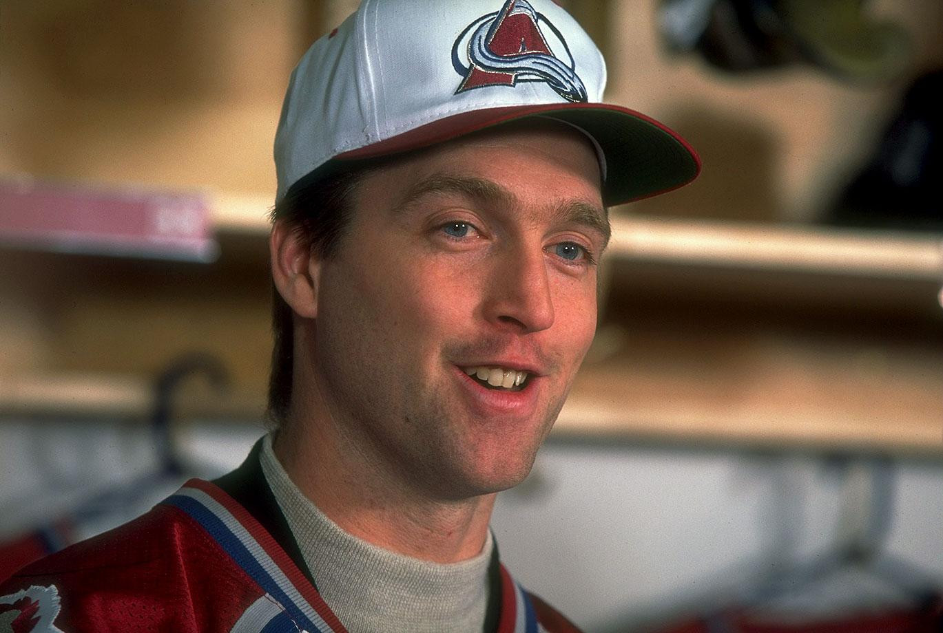 Dec. 7, 1995 — Colorado Avalanche locker room