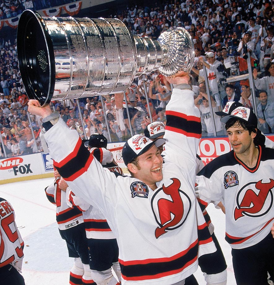 As the Devils' new starting goalie, Brodeur played in 40 of their 48 games during the lockout-shortened 1994-95 season, going 19-11-6 with a 2.44 GAA. He was brilliant in the playoffs, holding Detroit to only seven goals in four finals games as the Devils won their first Stanley Cup.