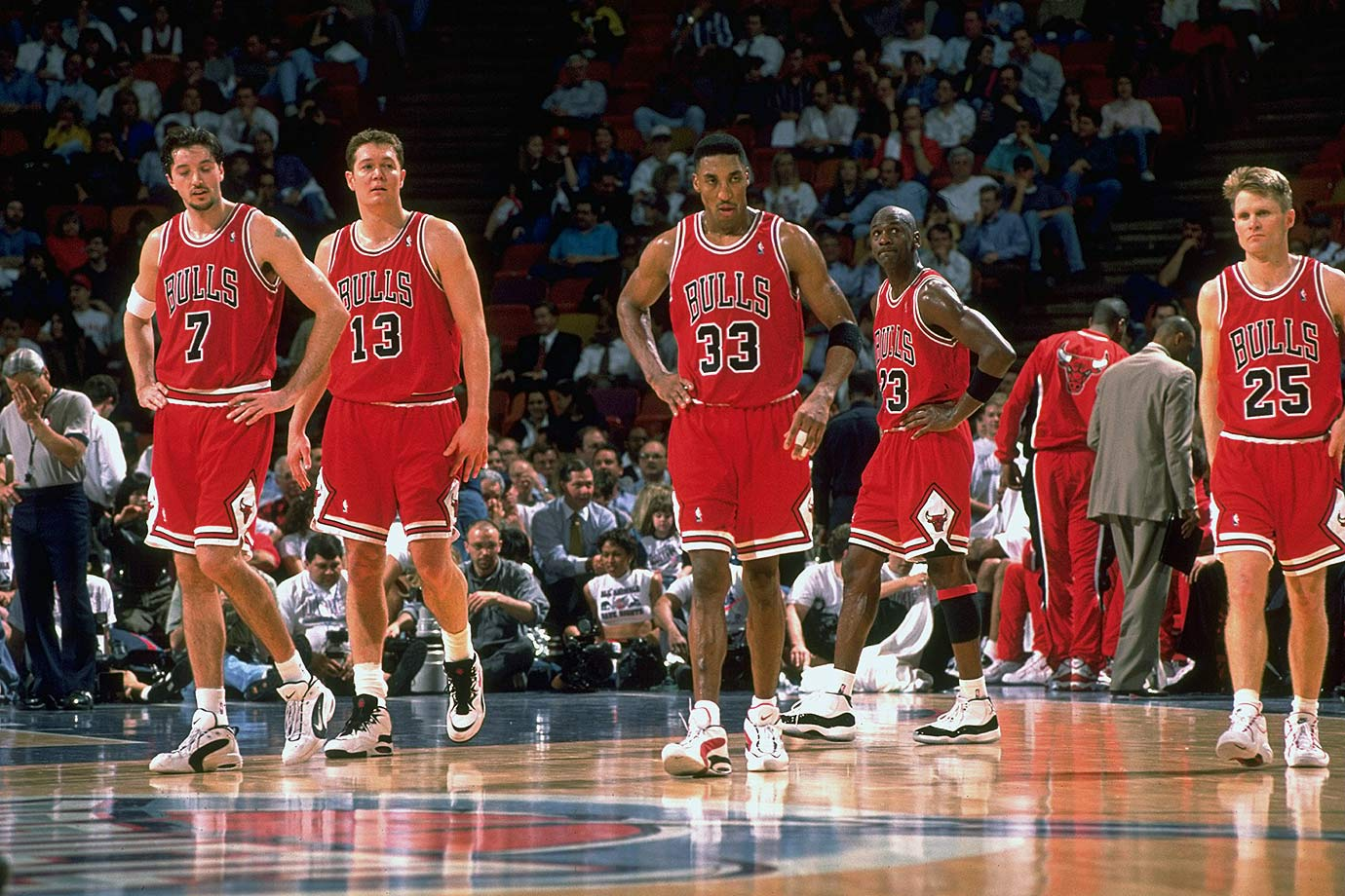 January 30, 1996 — Chicago Bulls vs. Houston Rockets