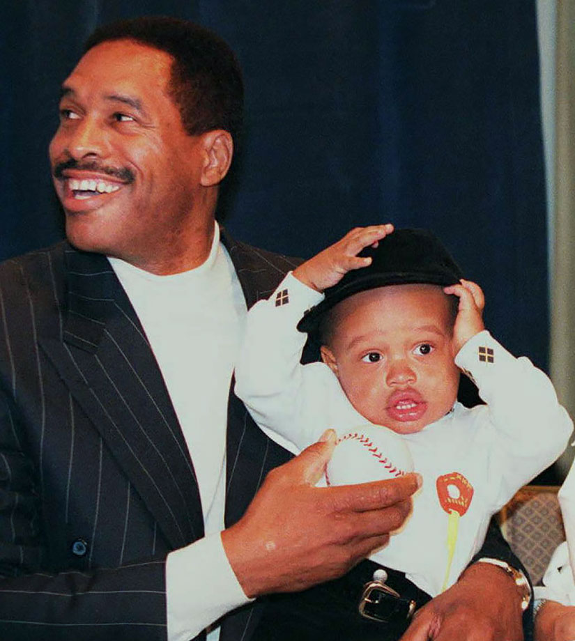 Dave Winfield and son Dave II