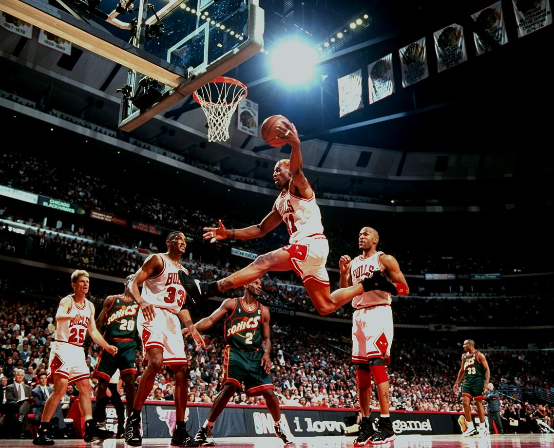 June 5, 1996 — NBA Finals, Game 1