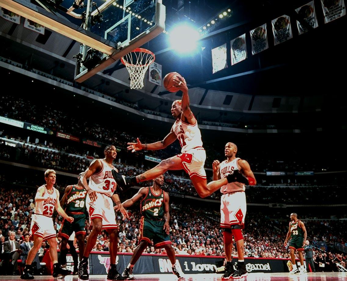 June 5, 1996 — NBA Finals, Game 1