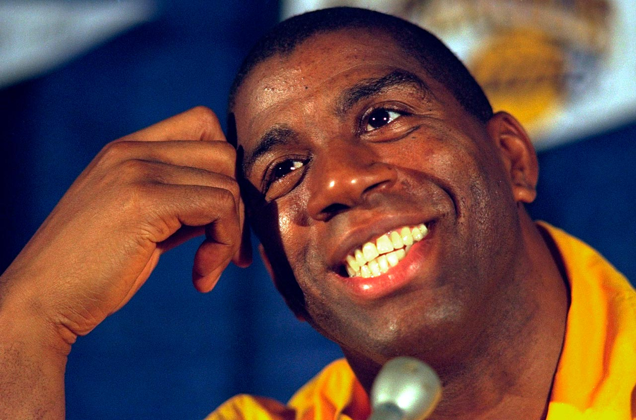 Sports Illustrated honors Magic Johnson with Sportsman of the Year