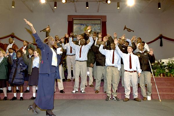 Tracy McGrady, Mt. Zion Christian Academy (1997) :: Jim Gund/SI