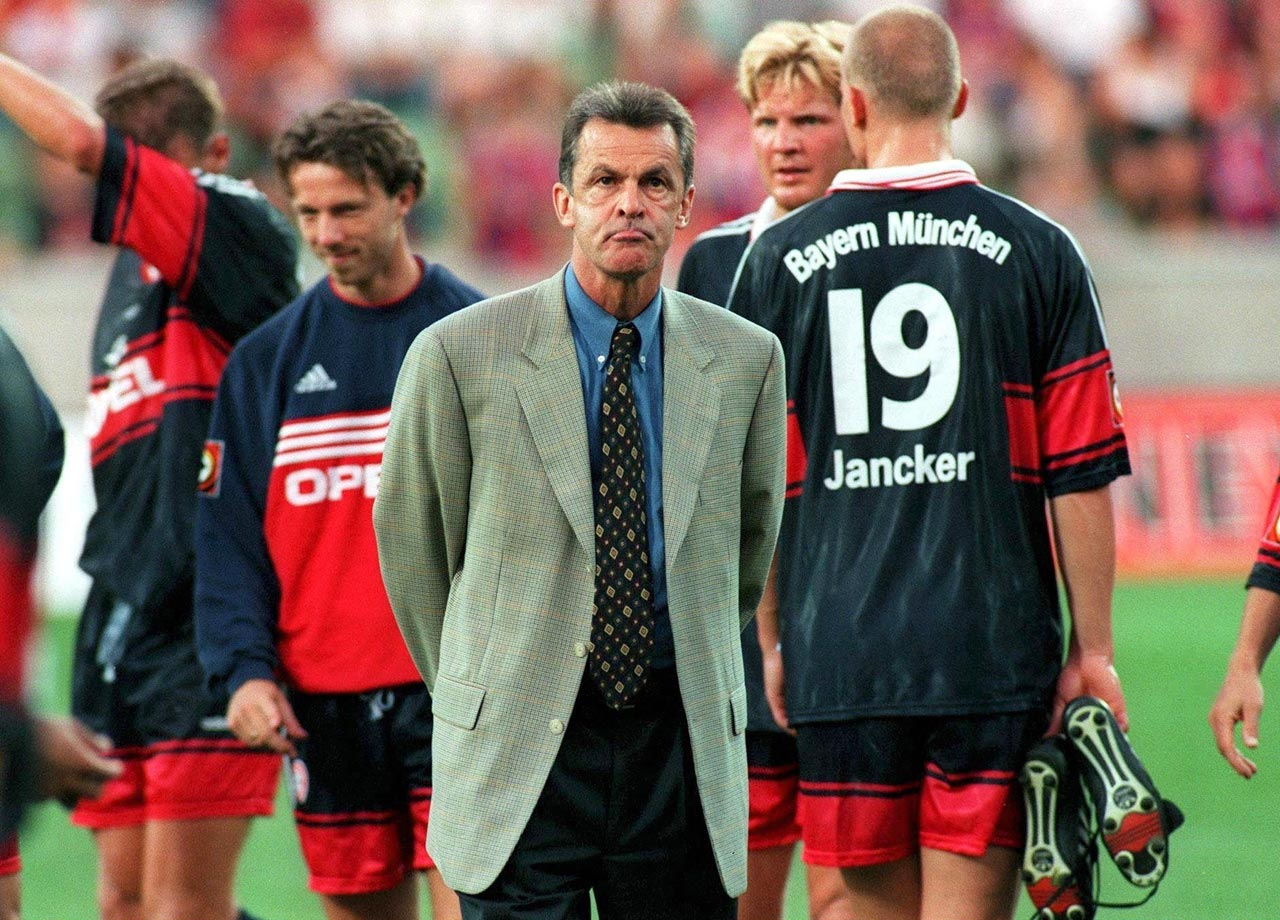 Ottmar Hitzfeld is hired as head coach. He would go on to coach the second-most total games and win the second-most total honors in club history (both behind Uto Lattek).