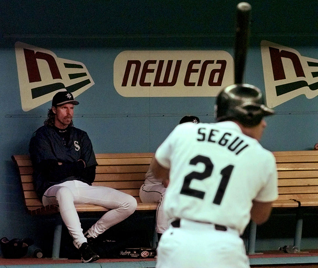 Johnson the towering lefty took exception to the music Segui was playing in the Mariners clubhouse one day during the 1998 season and shoved the first baseman into a locker. The pair was finally separated by a group of 10 players plus manager Lou Piniella and pitching coach Stan Williams. Segui suffered a sprained right wrist.