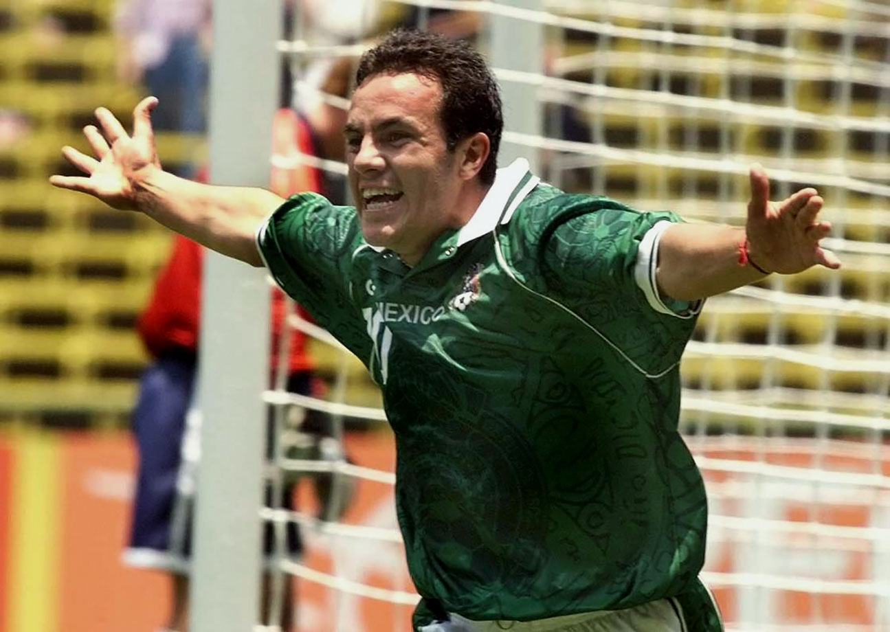 Cuauhtemoc Blanco's goal in extra time eliminated the U.S. in the semifinals of the 1999 Mexico City Confederations Cup. The win capped off a long tradition of Mexican dominance over the American side, a streak that shortly thereafter ended, as the Americans won the next three matches against their rivals.