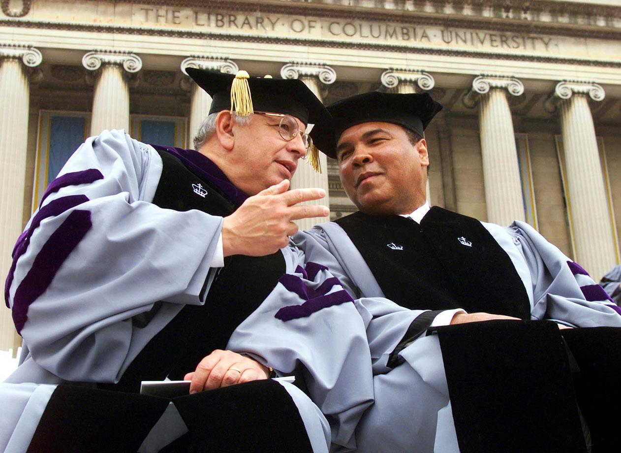 David Stern and Muhammad Ali