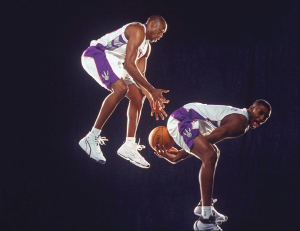 Tracy McGrady and Vince Carter (1999) :: Michael O'Neill/SI