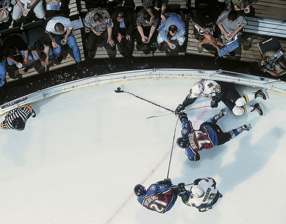 Oct. 4, 2000 — Colorado Avalanche vs. Dallas Stars