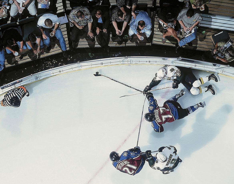 Oct. 4, 2000 — Colorado Avalanche vs. Dallas Stars