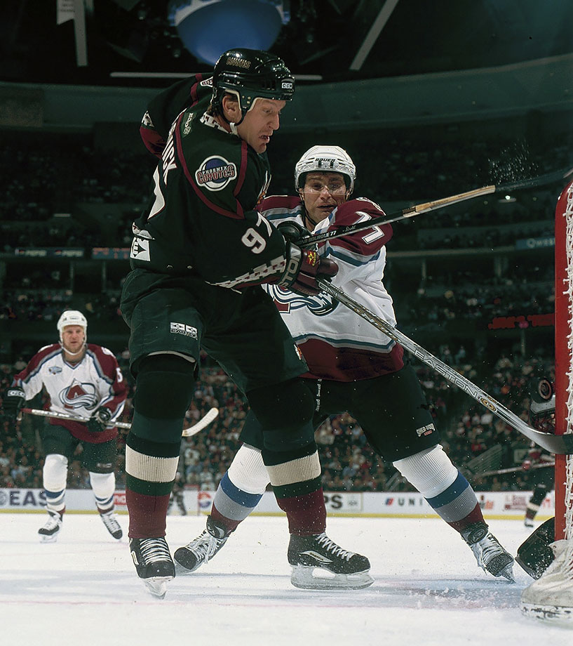 Oct. 30, 2000 — Colorado Avalanche vs. Phoenix Coyotes