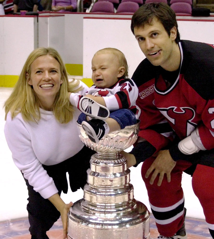 Son of New Jersey Devils defenseman Scott Niedermayer.