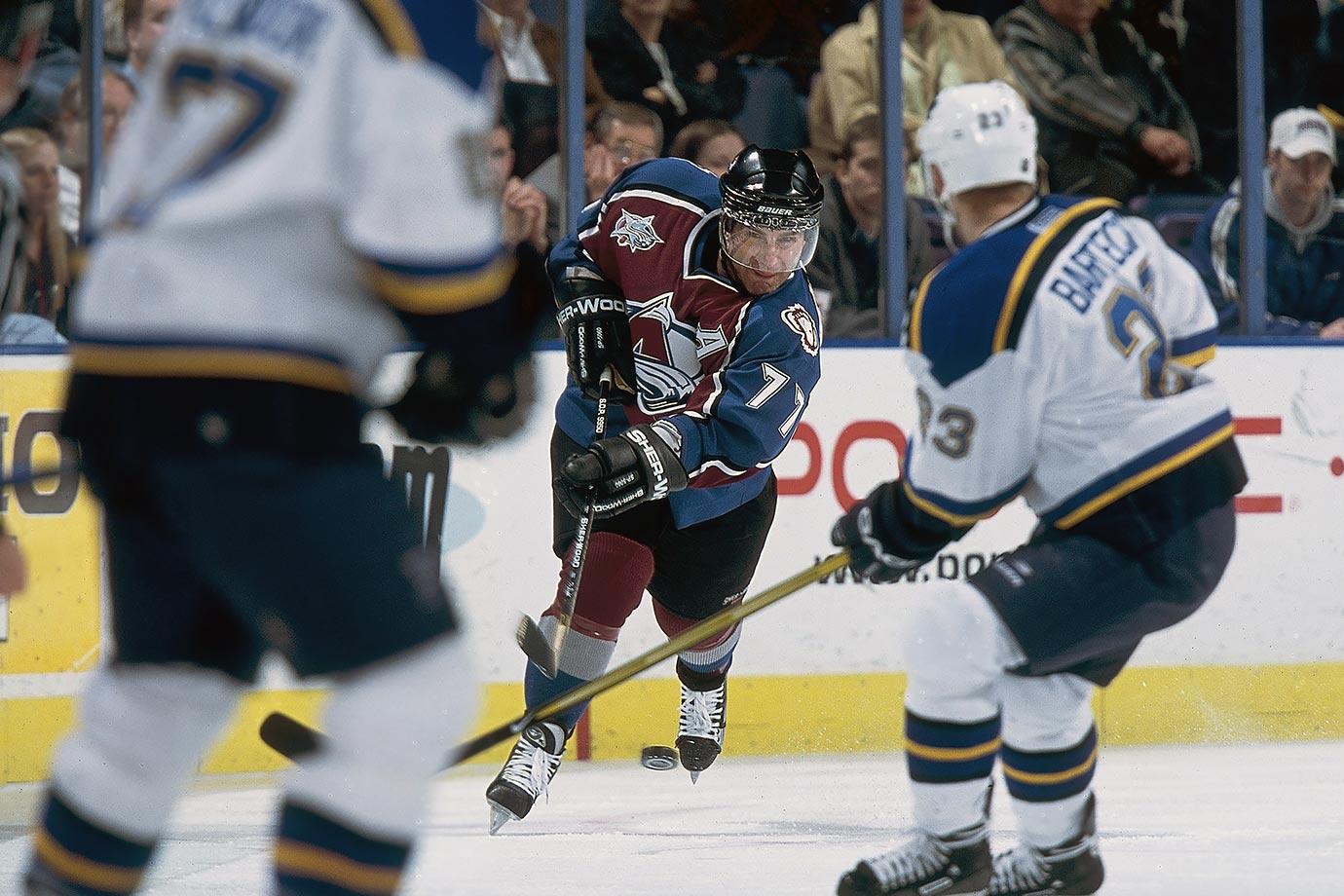 March 8, 2001 — Colorado Avalanche vs. St. Louis Blues