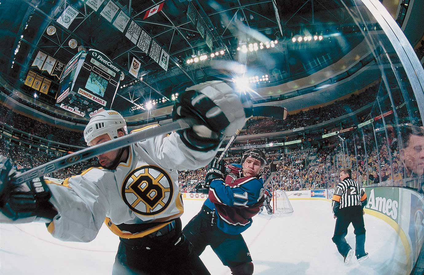 March 24, 2001 — Colorado Avalanche vs. Boston Bruins