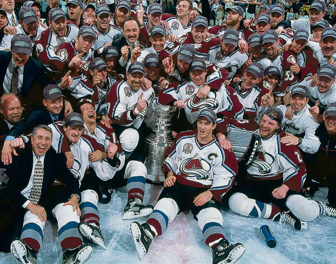 June 9, 2001 — Stanley Cup Final, Game 4 (Avalanche vs. Devils)