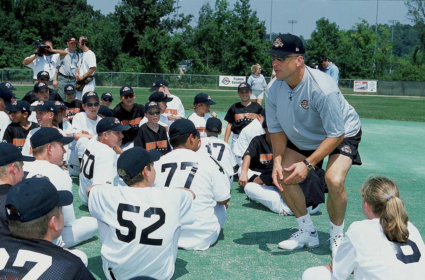 Aug. 7, 2001 (Ripken Baseball Camp)
