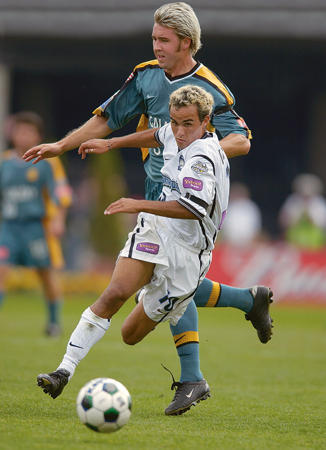 <p>2001 — San Jose Earthquakes (beat LA Galaxy 2-1 in extra time)</p>