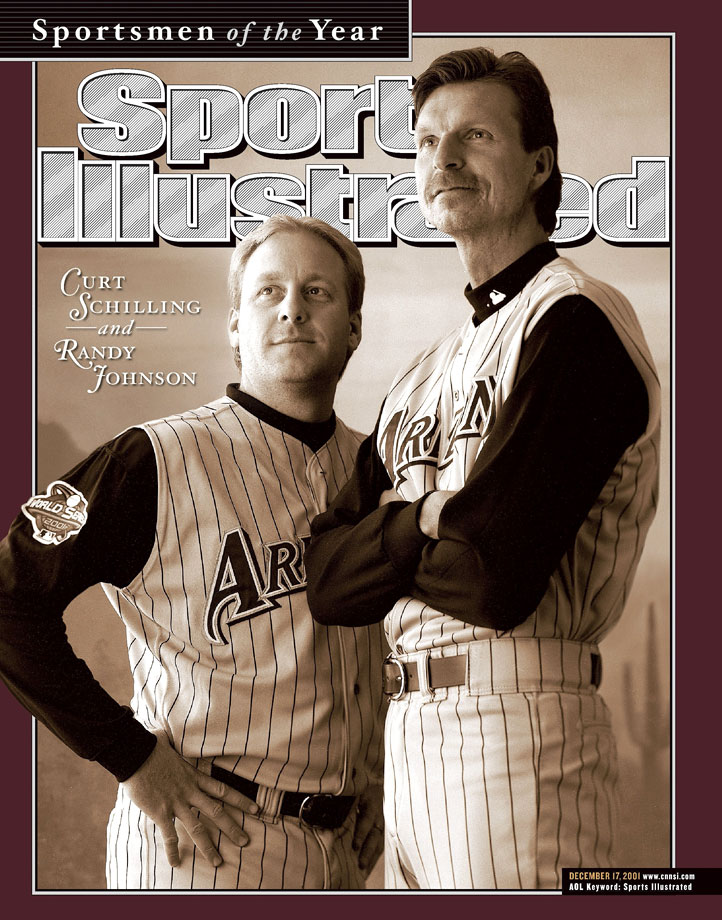 <p>Curt Schilling and Randy Johnson</p>