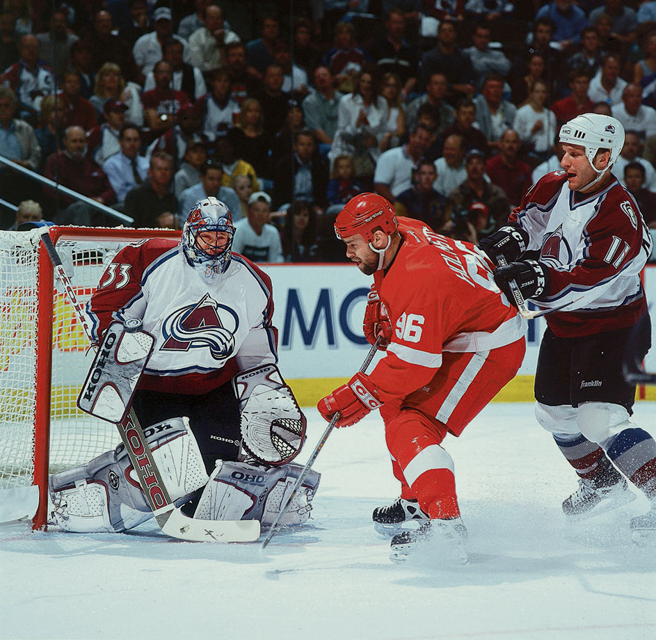May 22, 2002 — Western Conference Final, Game 3 (Avalanche vs. Red Wings)