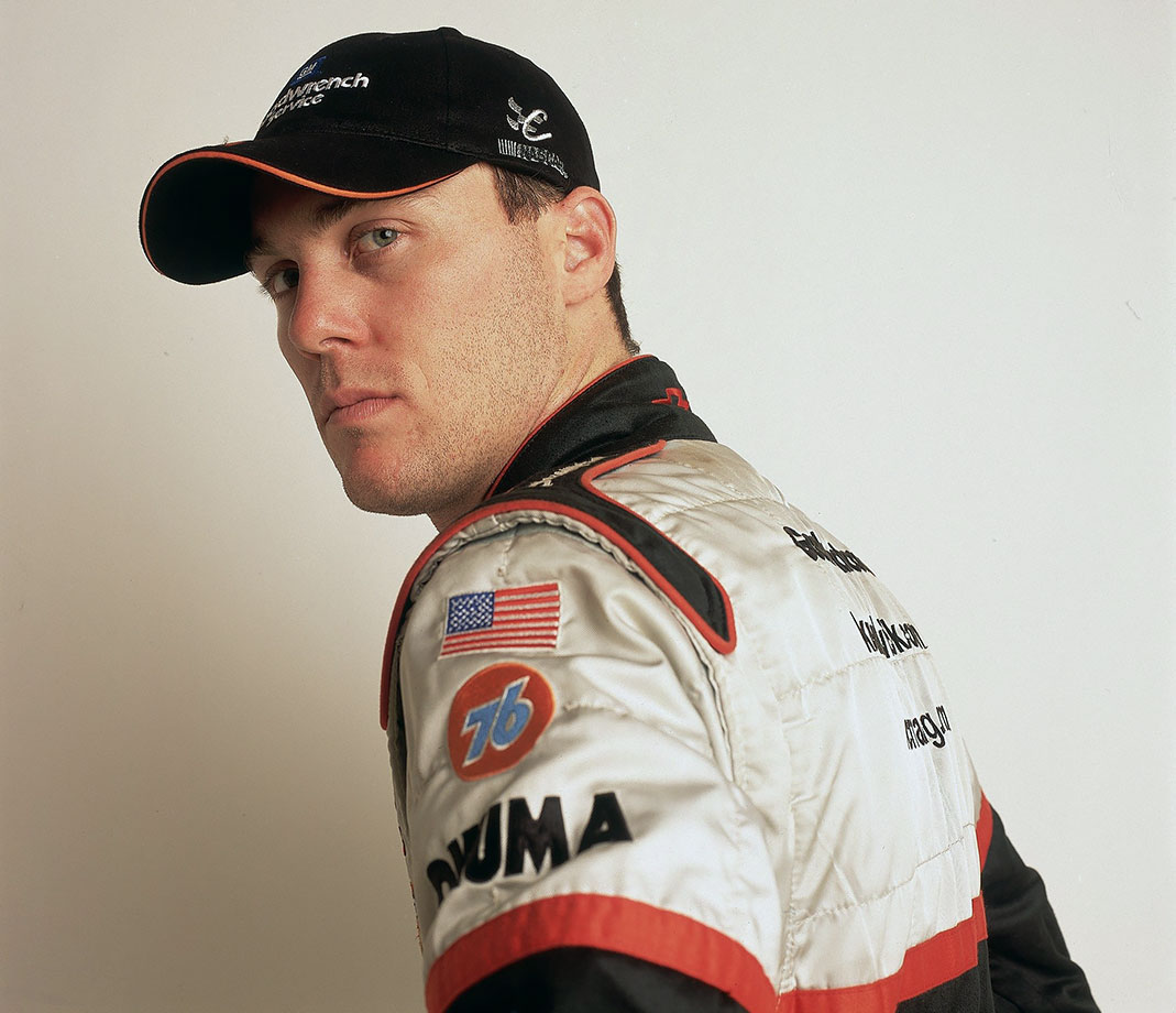 Kevin Harvick poses for a portrait at Atlanta Motor Speedway on October 26, 2002.