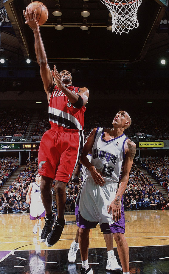 December 28, 2002 — Portland Trail Blazers vs. Sacramento Kings