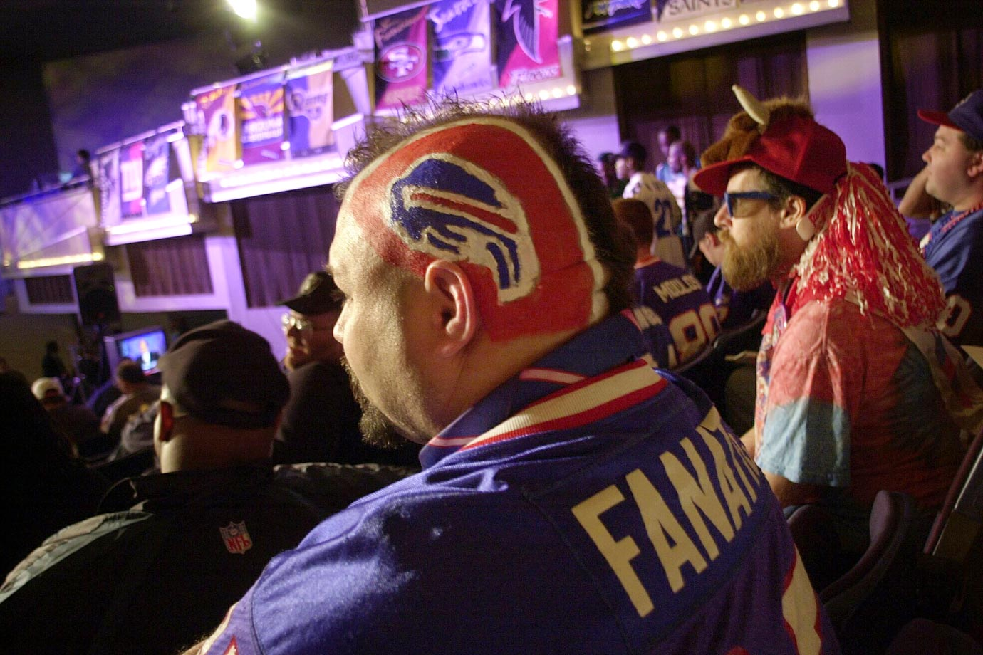 Buffalo Bills fan in 2002.