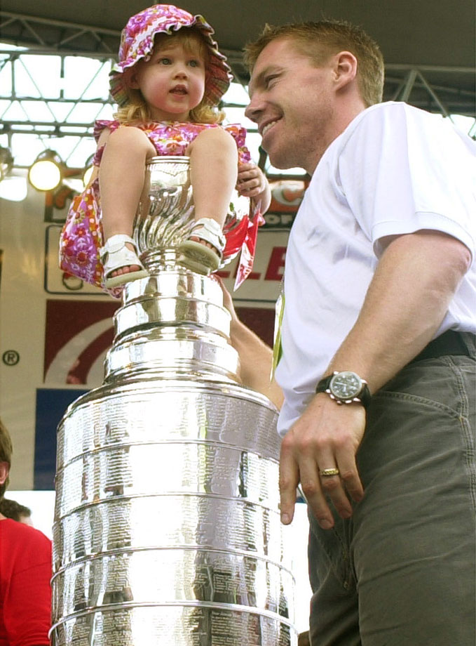 Daughter of Detroit Red Wings center Kris Draper.