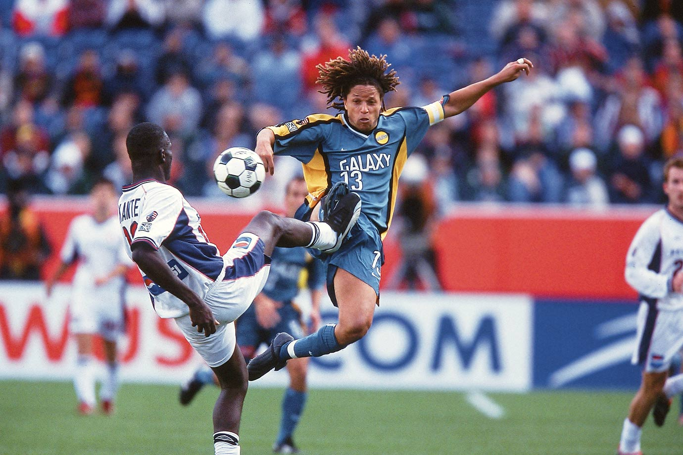 <p>2002 — LA Galaxy (beat New England Revolution 1-0 in extra time)</p>