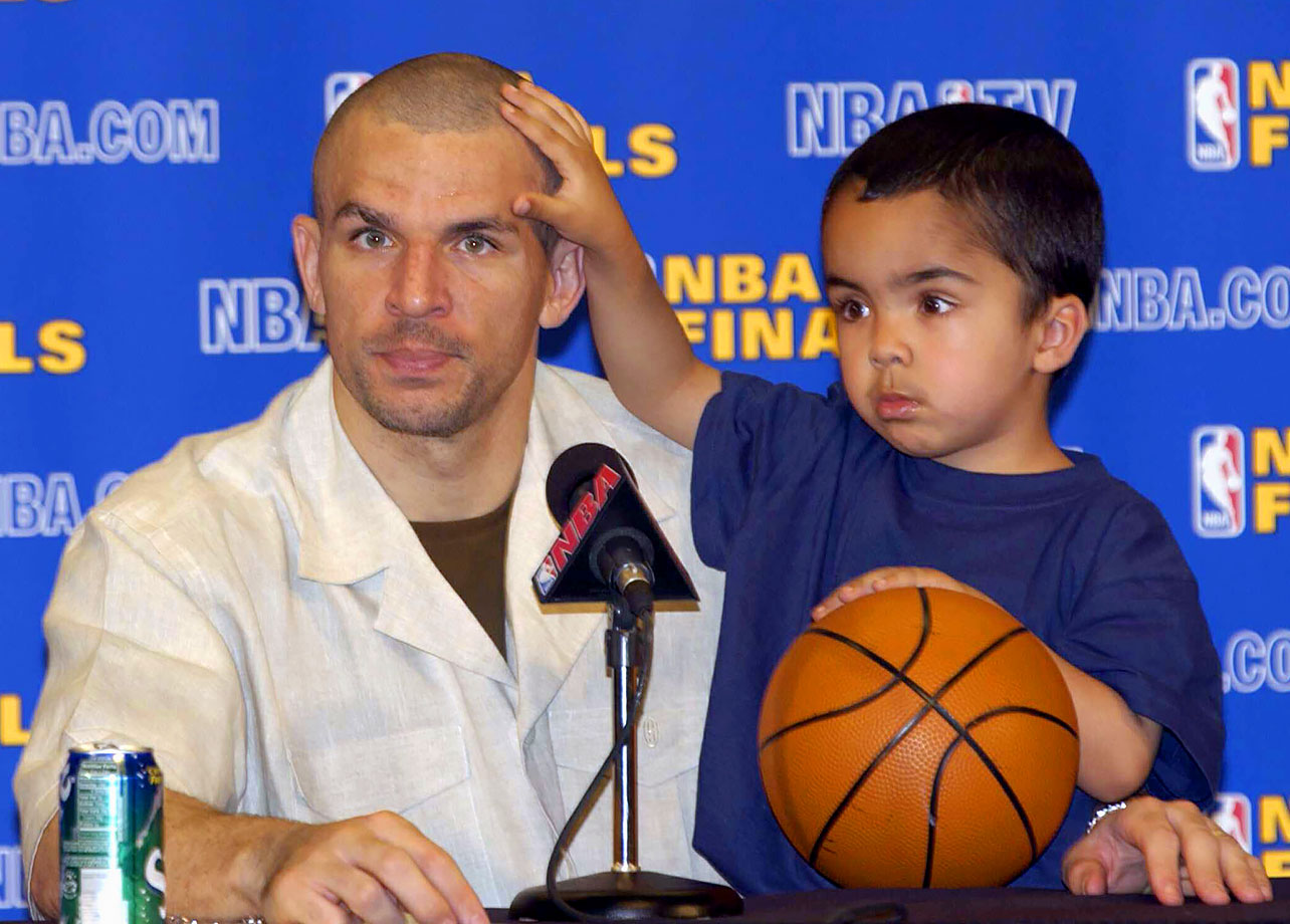 Jason Kidd and son T.J.