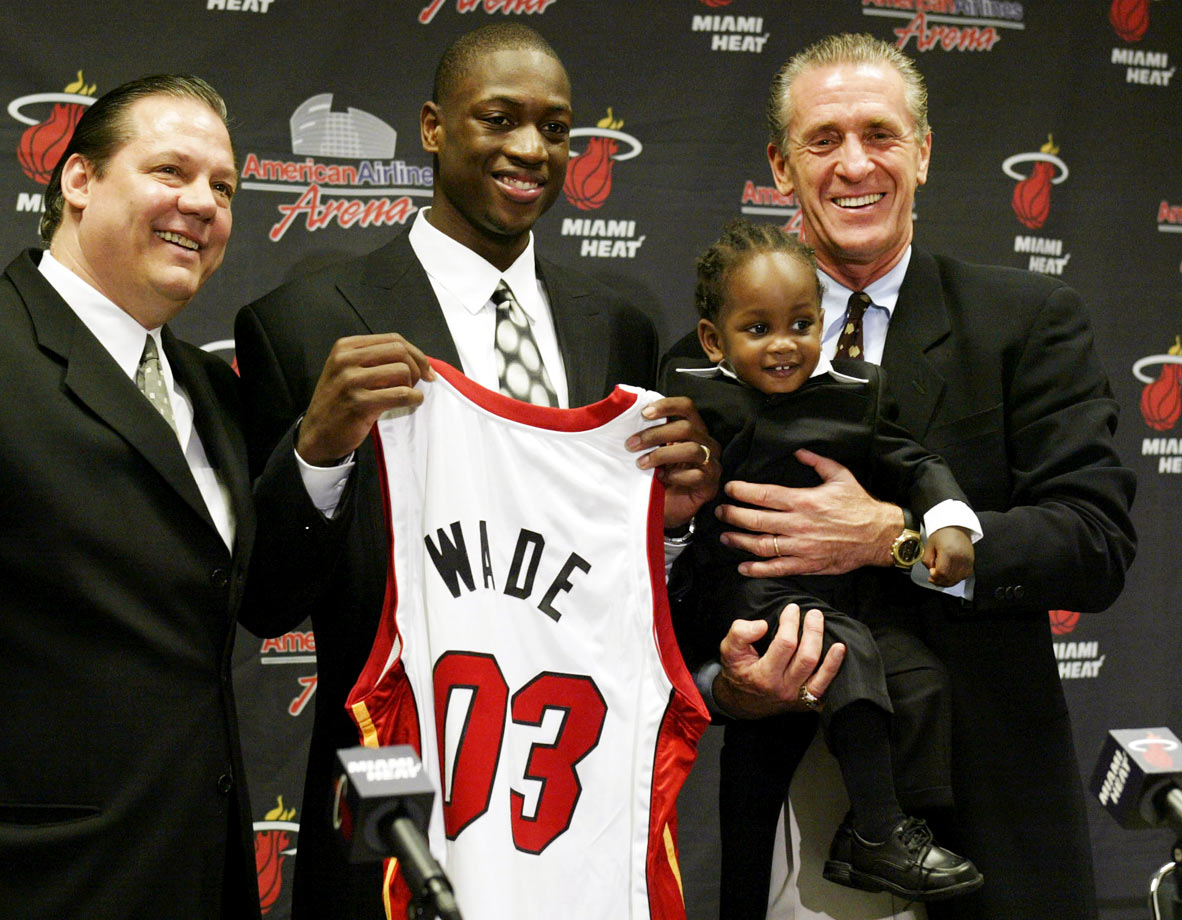 Dwyane Wade and son Zaire
