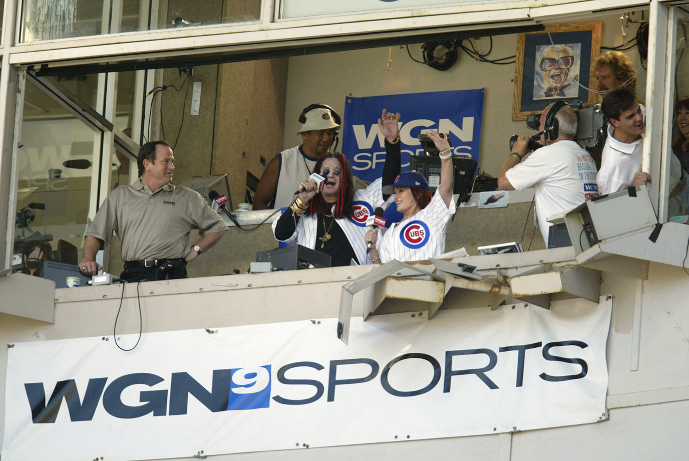 Chicago Cubs vs. Los Angeles Dodgers at Wrigley Field on Aug. 17, 2003 in Chicago.