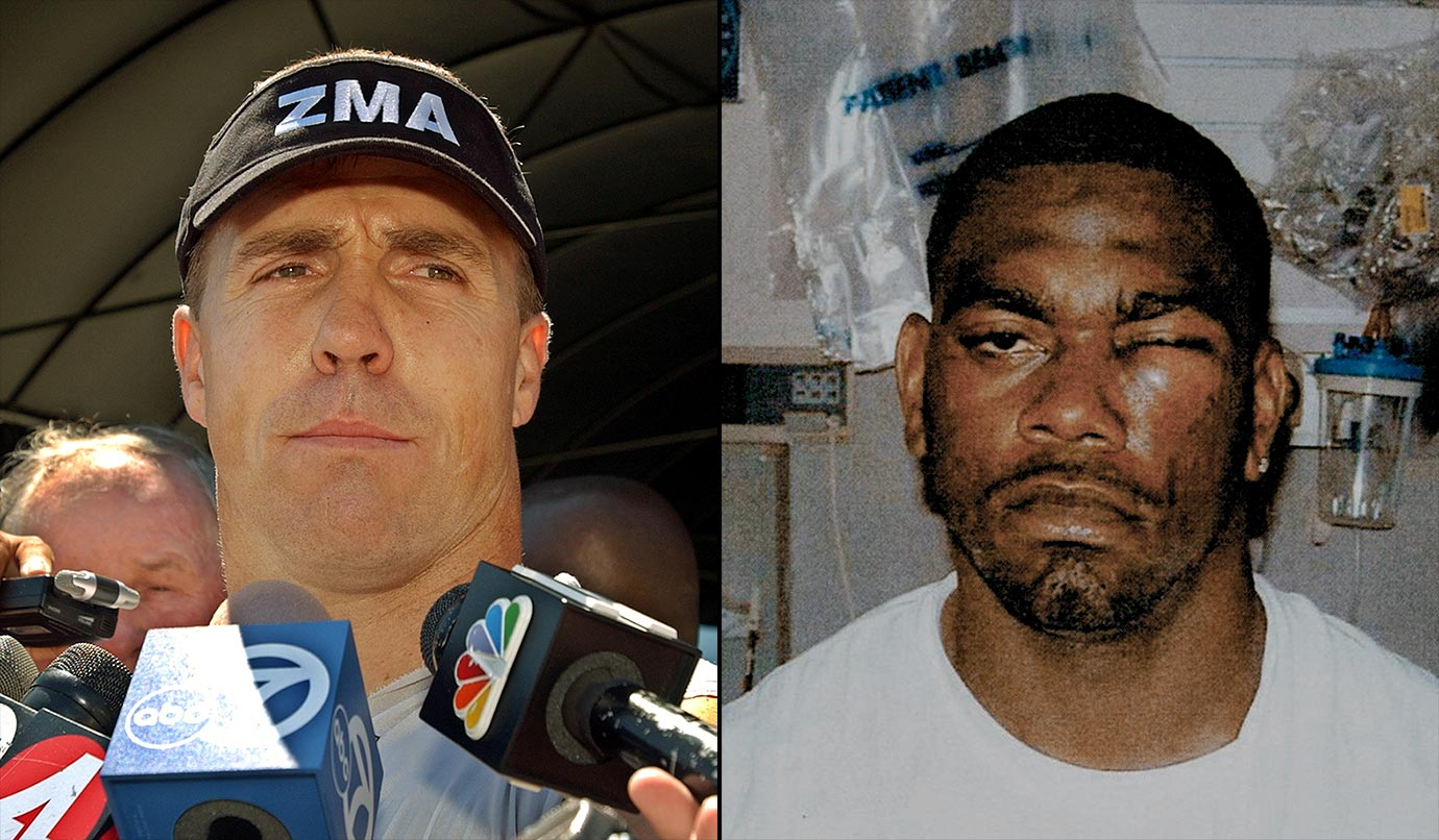 Williams, a backup tight end for the Raiders, learned the hard way why you don't mess with Romanowski. They got into a skirmish during a team scrimmage in Aug. 2003 that culminated with Romanowski ripping off Williams' helmet and punching him so violently it shattered his eye socket. Williams never played another game in the NFL. Romanowski was fined and suspended.