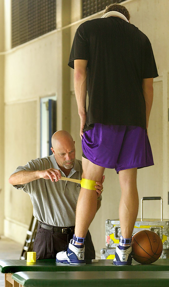 Gary Vitti and Luke Walton